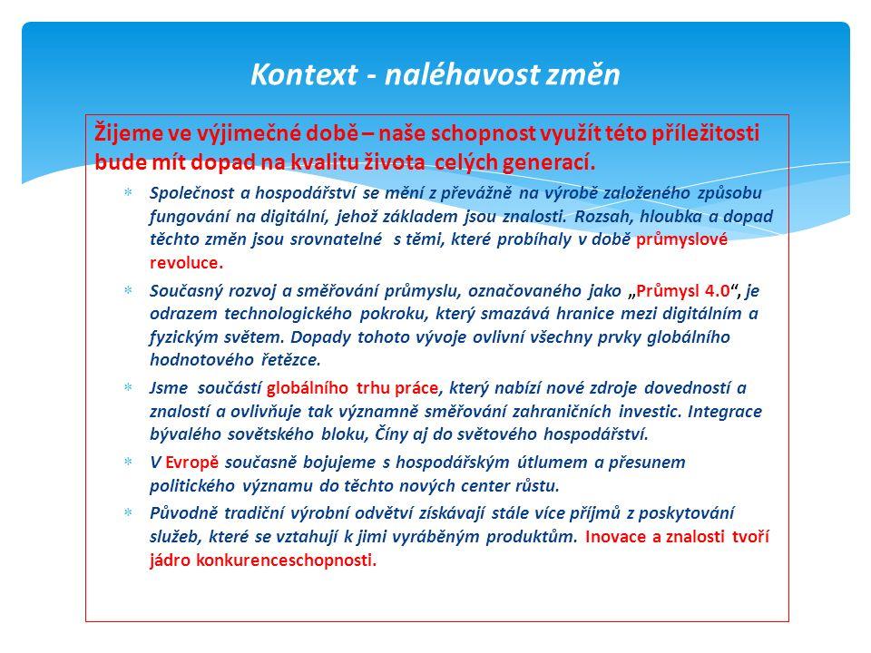 Indikátor GCIPořadí ČR 2008-2009Pořadí ČR 2013-2014 Mzdy a produktivita práce13.
