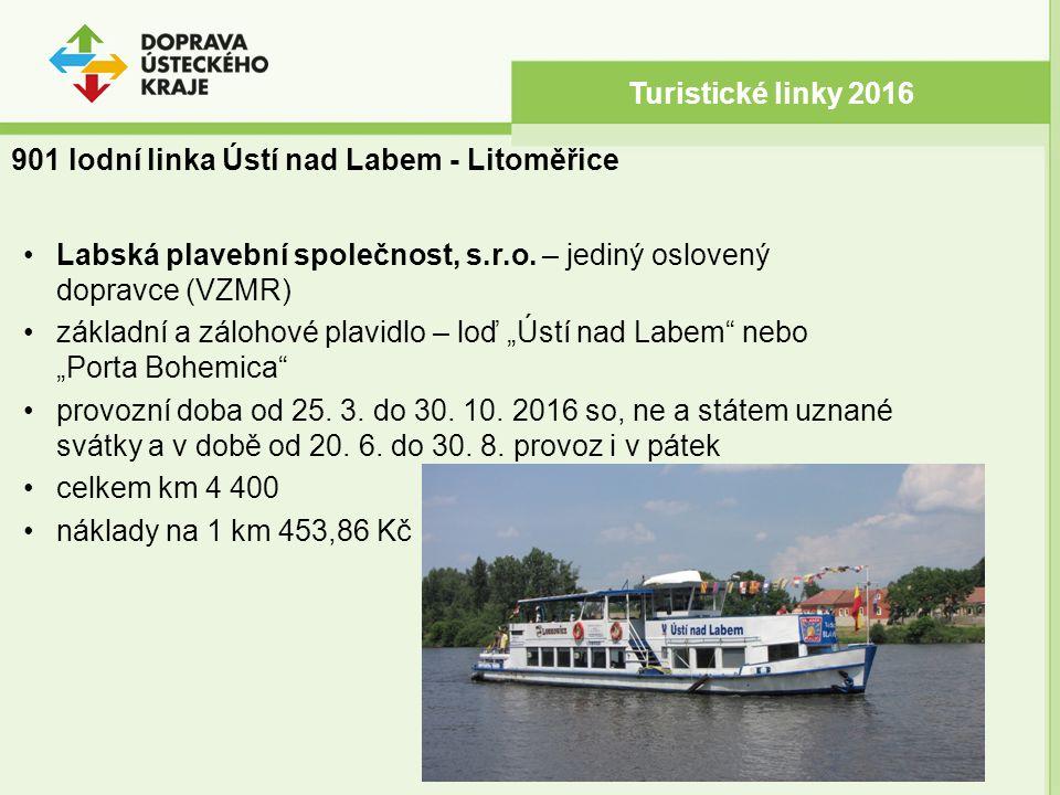 """Labská plavební společnost, s.r.o. – jediný oslovený dopravce (VZMR) základní a zálohové plavidlo – loď """"Ústí nad Labem"""" nebo """"Porta Bohemica"""" provozn"""