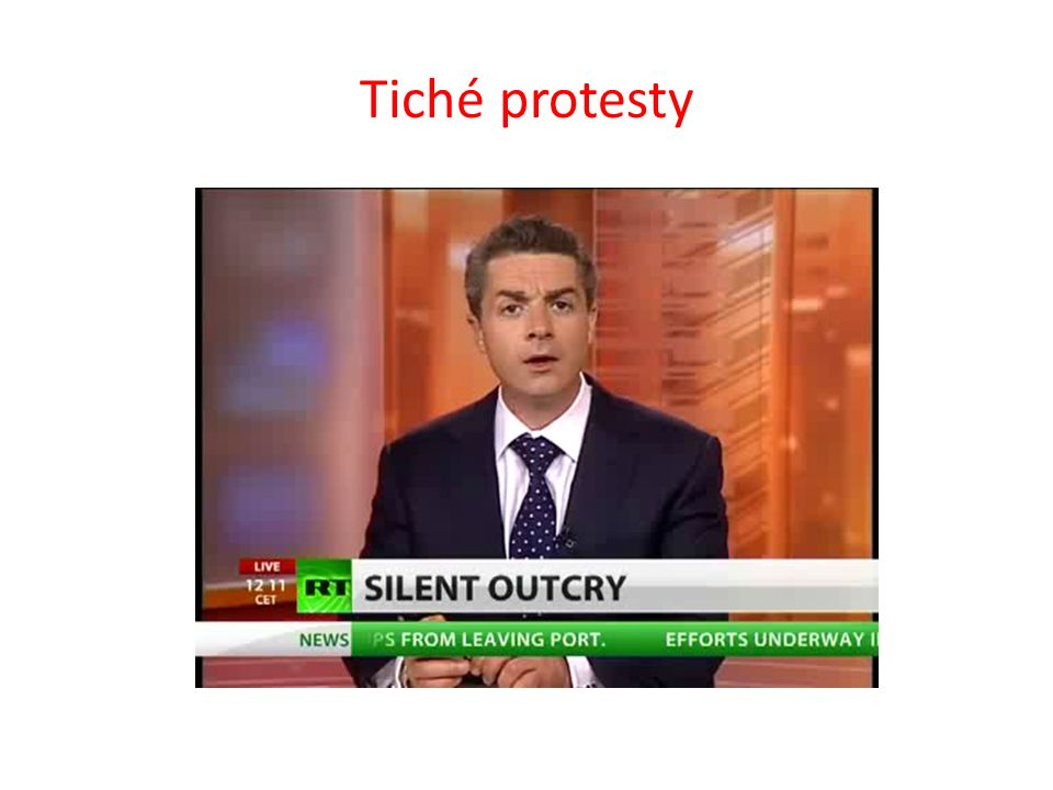 Tiché protesty