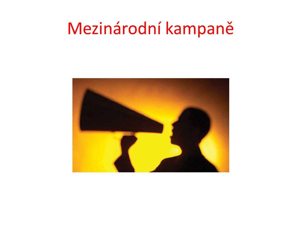 Mezinárodní kampaně