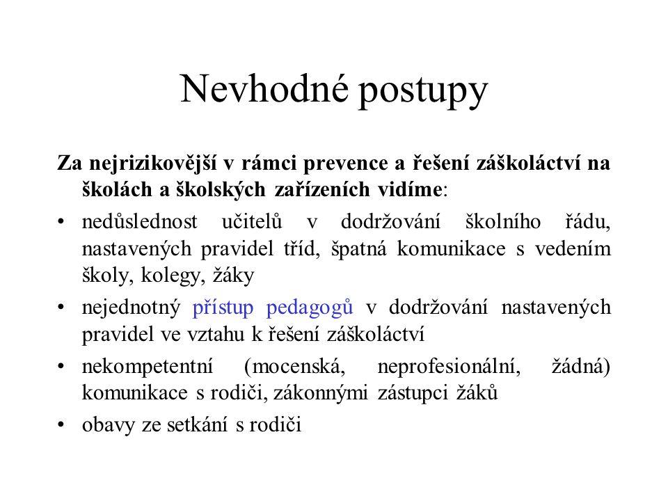 V jakém případě vyrozumět Policii ČR, OSPOD .