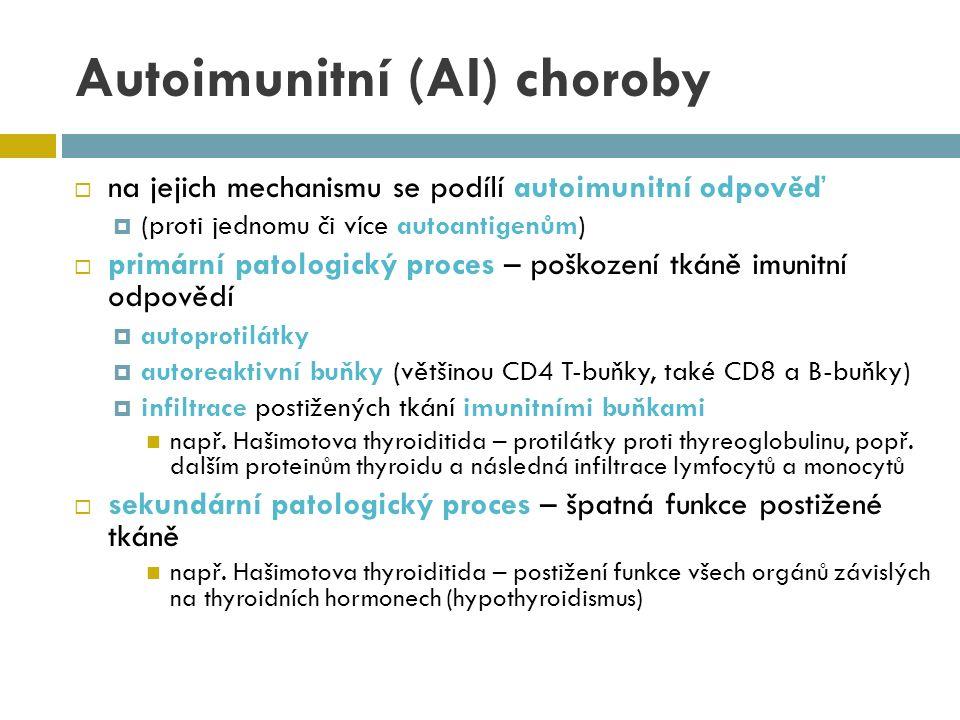 SLE perikard – výpotky cNS – psychotické stavy, křeče hematologické projevy – hemolytická anémie, leukopenie, lymfopenie, snížení C4, C3, hypergamaglobulinémie  autoprotilátky proti jaderným Ag (ANA)  dsDNA ~ 70 % nemocných  RNP ~ 60 %  Sm (small nuclear riboproteins) ~ 25 % (ale ~99 % lidí s AntiSm má lupus)  RF (Fc IGG) ~ 25 %  histony, APLA  ukládání imunokomplexů v tkáních  léčba  prevence vzplanutí, jejich zmírnění a zkrácení  kortikosteroidy, antimalarika  u některých orgánových projevů (progresivní glomerulonefritida) periodicky cytostatika (cyklofosfamid)  N-acetylcystein (antioxidant)  mírné formy někdy bez léků