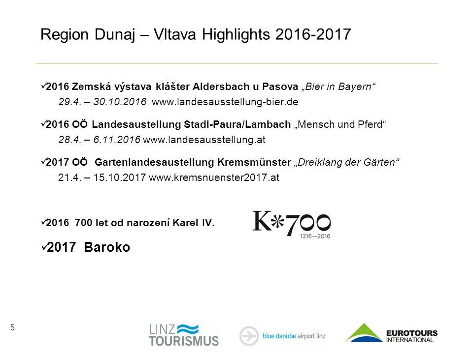 "5 Region Dunaj – Vltava Highlights 2016-2017 2016 Zemská výstava klášter Aldersbach u Pasova ""Bier in Bayern 29.4."