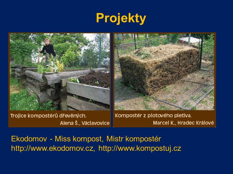 Projekty Ekodomov - Miss kompost, Mistr kompostér http://www.ekodomov.cz, http://www.kompostuj.cz