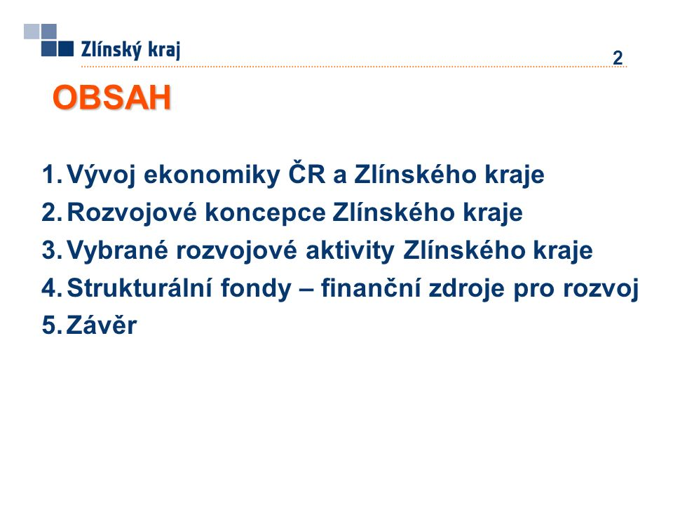 ROP Střední Morava – přehled čerpání dotací za Zlínský kraj Zdroj: ÚRR RS SM; stav k 6.
