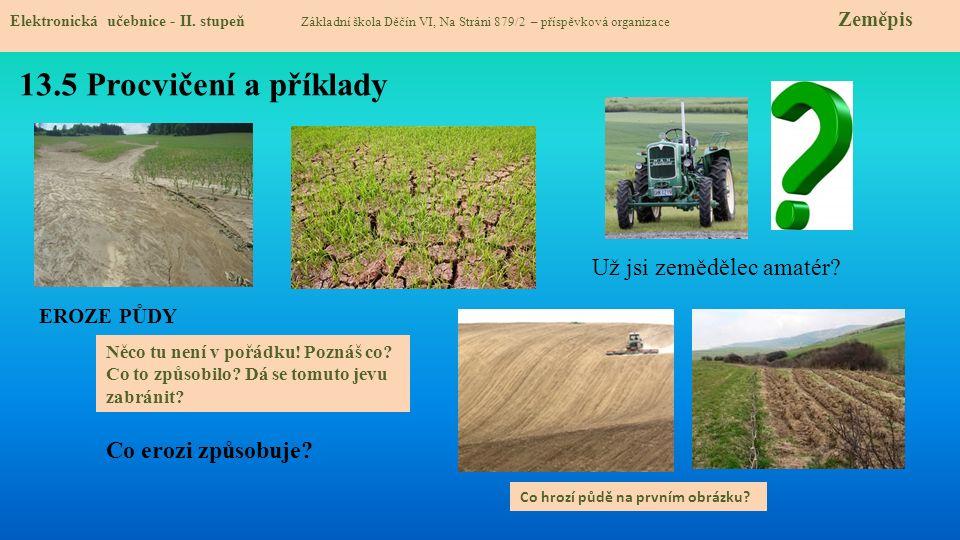 13.5 Procvičení a příklady Elektronická učebnice - II.