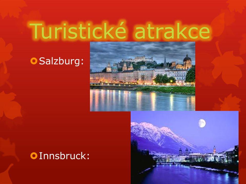  Salzburg:  Innsbruck: