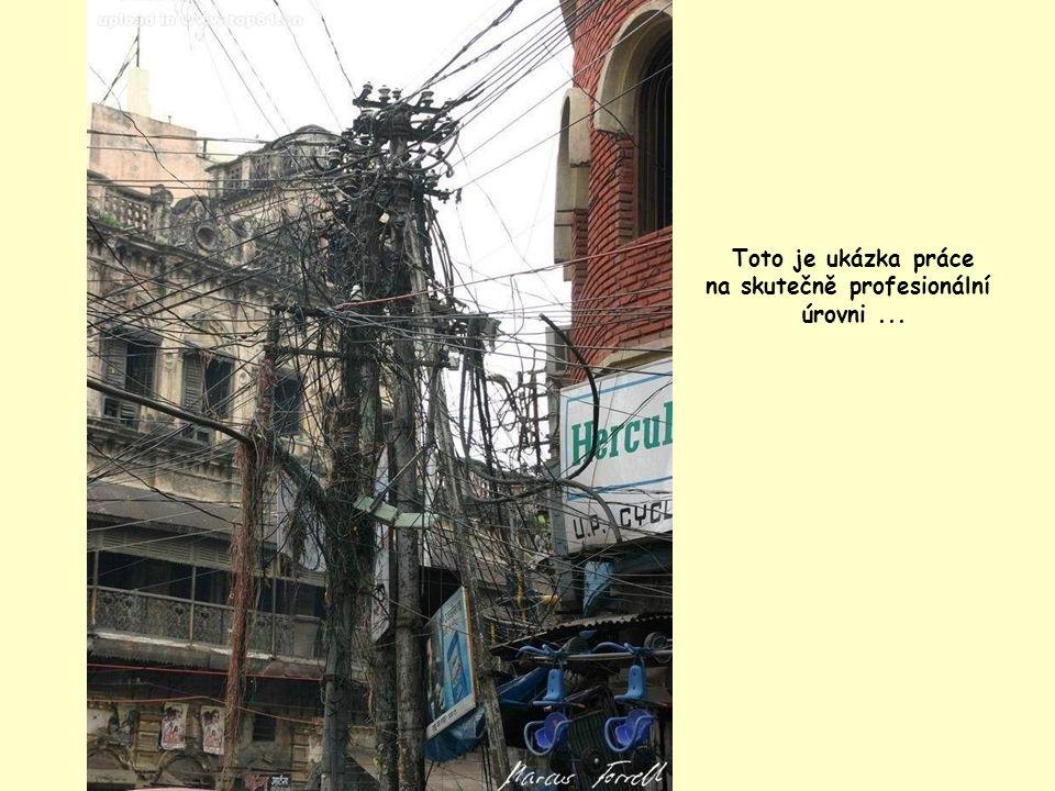 Jednotlivé kabely lze sledovat a kontrolovat i z jedoucího auta...