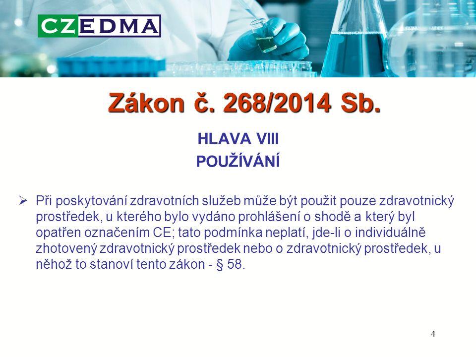 Zákon č.268/2014 Sb.