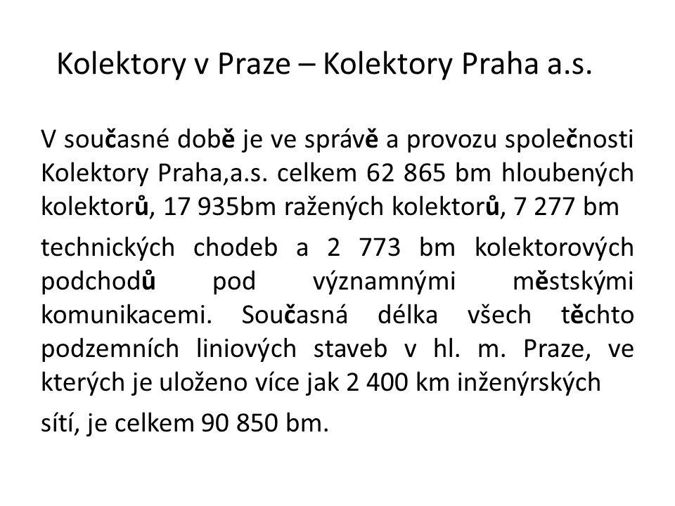 Kolektory v Praze – Kolektory Praha a.s.
