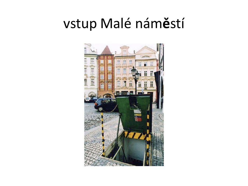 vstup Malé náměstí