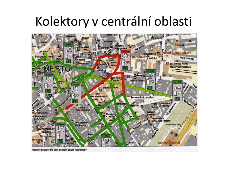 Kolektory v centrální oblasti