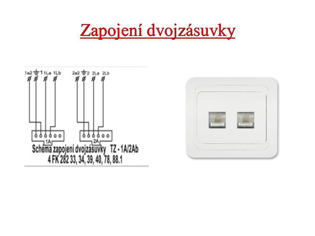 Konektor RJ 11 ● Klasický telefonní kabel se dvěma konektory typu RJ-11 ● Kabel uplatníte zejména ve chvíli, kdy potřebujete pevnou linku zapojit zcela jinde, než máte vyvedenu telefonní zásuvku.