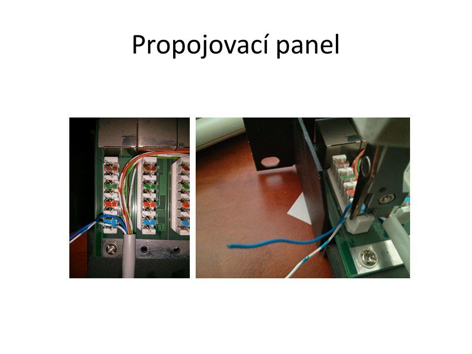 Propojovací panel