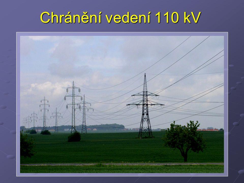 Chránění vedení 110 kV