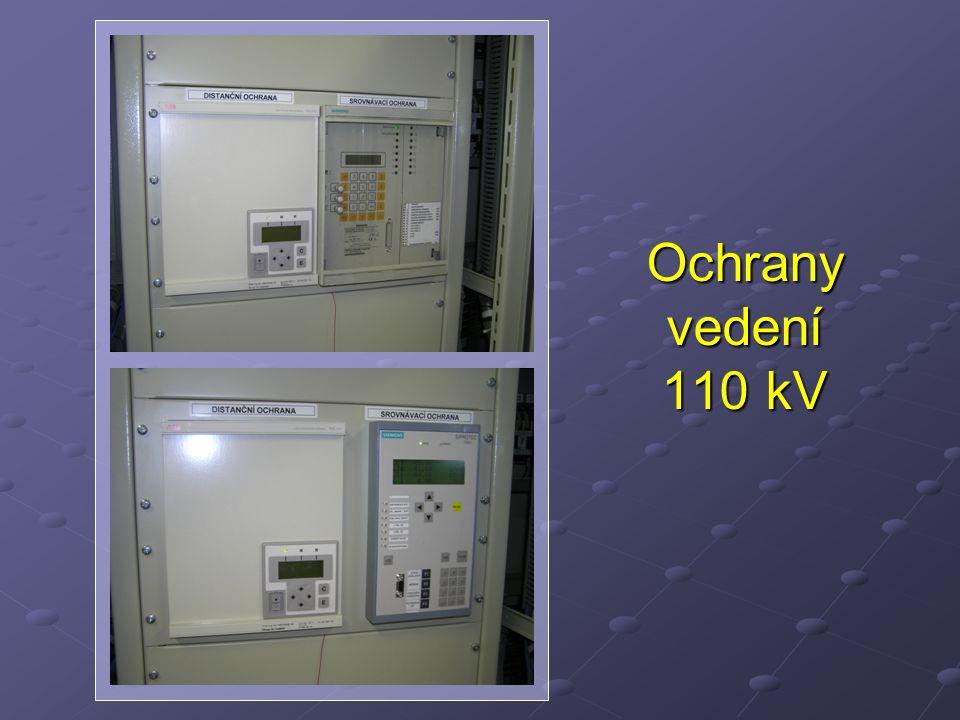 Ochrany vedení 110 kV
