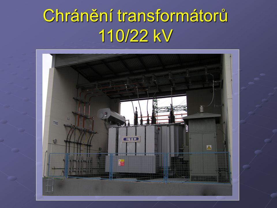 Chránění transformátorů 110/22 kV