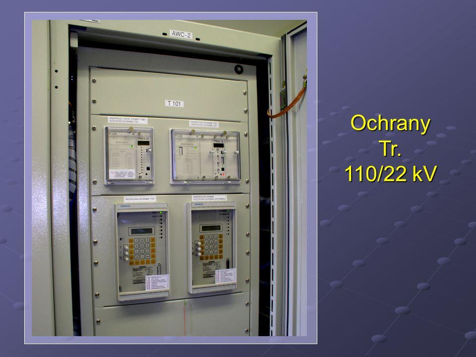 Ochrany Tr. 110/22 kV