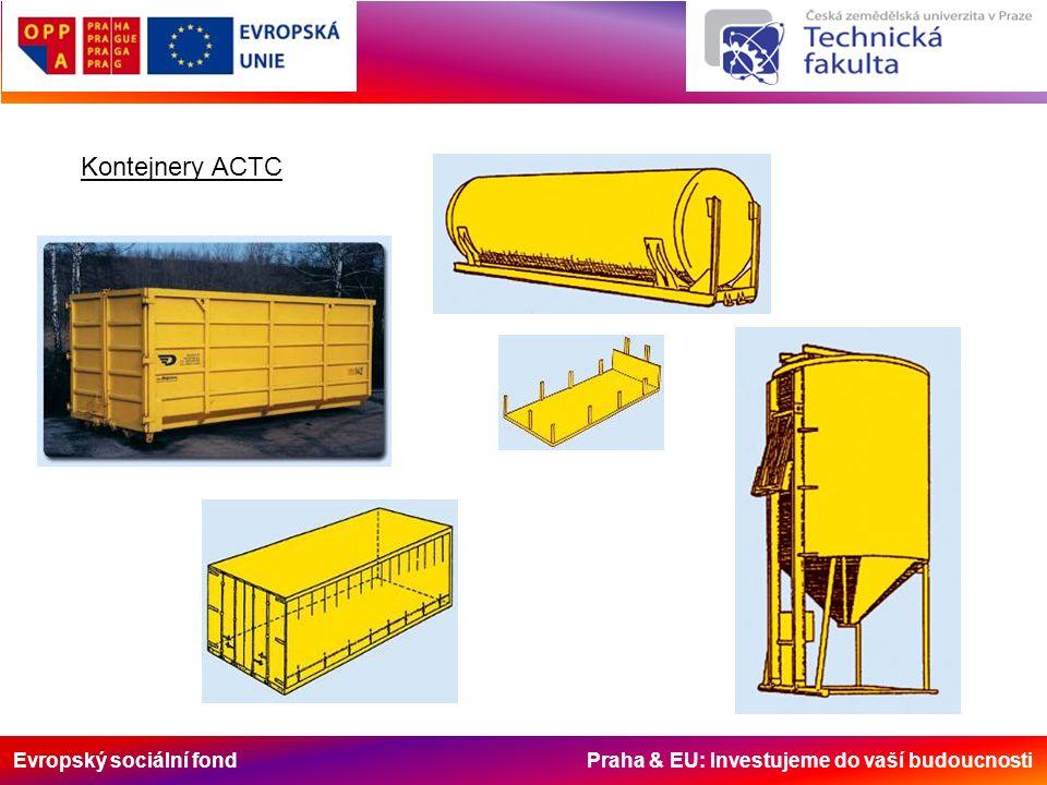 Evropský sociální fond Praha & EU: Investujeme do vaší budoucnosti Kontejnery ACTC
