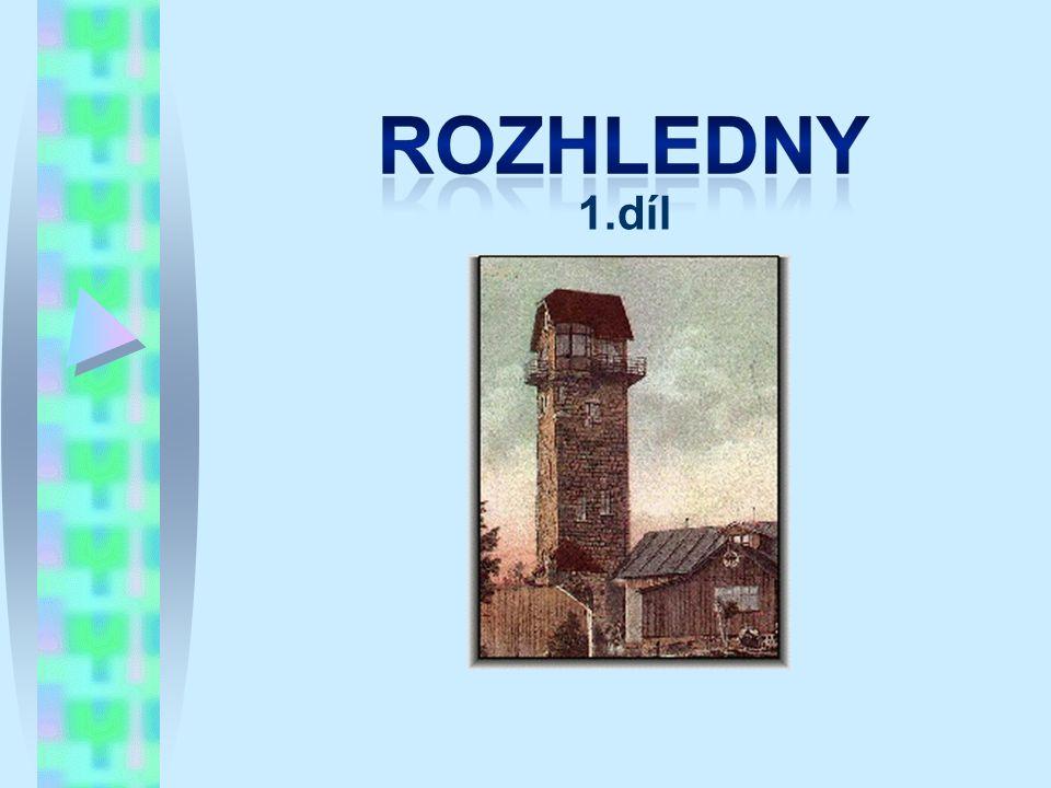Žalý Typ/materiál: kamenná rozhledna; Lokalita: kopec Přední Žalý, cca 5km severozápadně od Vrchlabí, cca 35km severozápadně od Trutnova (50°39 29.517 N, 15°34 20.585 E); Nadmořská výška: 1019m; Okres: Trutnov; Období výstavby: 1892; Oficiální zpřístupnění: 7.