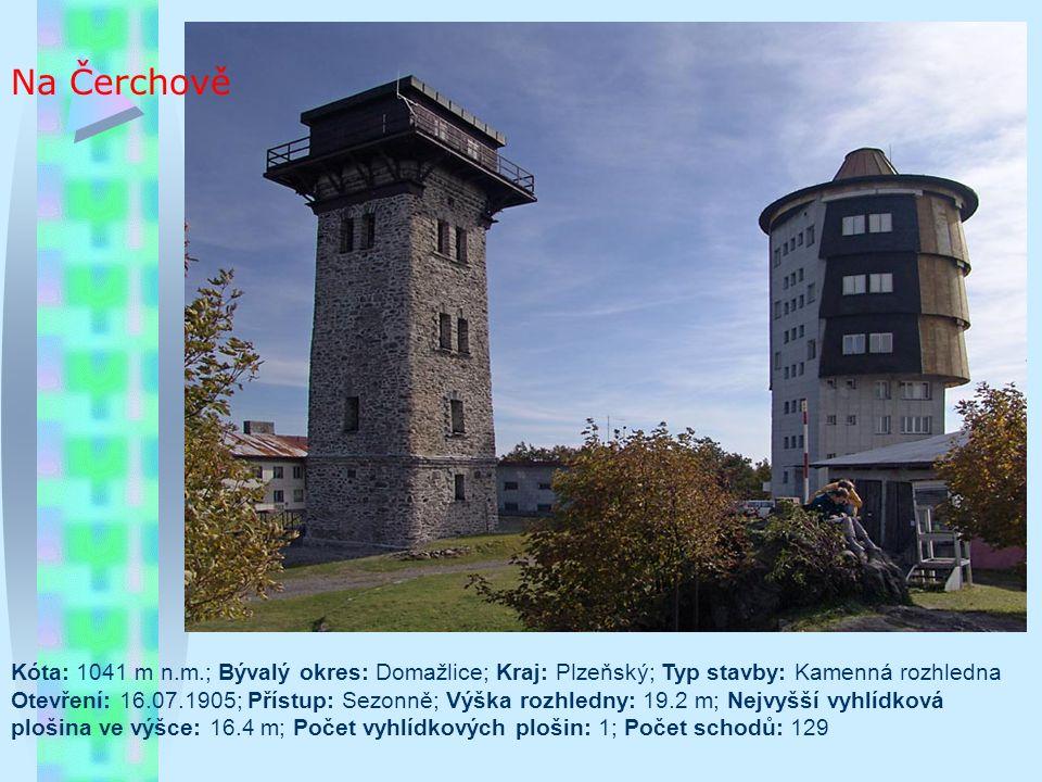 Vartovna Typ/materiál: kamenný základ, ocelová konstrukce, dřevěné prvky; Lokalita: kopec Vartovna, cca 2km východně od obce Seninka, cca 10 km jižně od Vsetína; Nadmořská výška: 651m; Období výstavby: duben až listopad 2009; Oficiální zpřístupnění: 17.