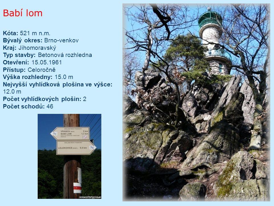 Barborka – Zelené hory Typ dřevěná, kovové části; Kóta paty rozhledny 313 m; Rok vzniku 2004; Kraj Pardubický; Výška věže 13,8m; Počet schodů 47; Stav: přístupná