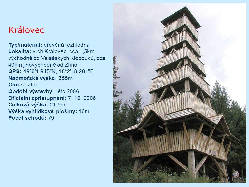 Ztracenec Dřevěná rozhledna na vrcholu Ztracenec (1 055 m.n.m.) v pohoří Javorníků.