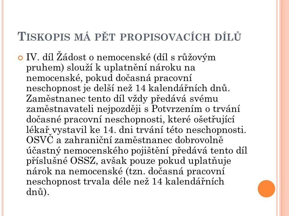T ISKOPIS MÁ PĚT PROPISOVACÍCH DÍLŮ IV.
