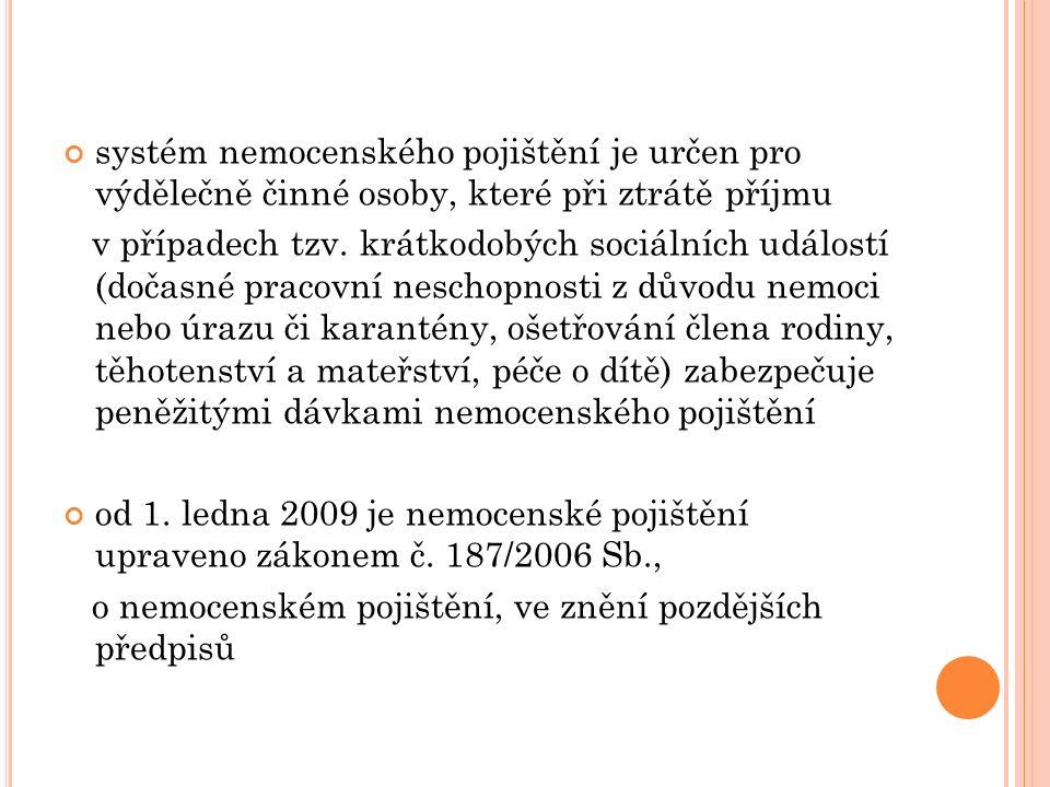 P OUŽITÉ ZDROJE vlastní poznámky z odborné stáže u zaměstnavatele http://www.vypocet.cz/popis-vypoctu-nemocenske/ http://www.penize.cz/nemocenska/278090-nove- kalkulacky-nahrada-mzdy-a-nemocenska-i-pro-osvc http://www.mpsv.cz/cs/7 http://portal.gov.cz/portal/obcan/situace/209/219/ 6058.html http://www.ucto2000.cz/LEGISLAT/neschopenka.ht m KODROVÁ, Jaroslava, SCHMIED Zdeněk, Mgr.: Náhrada mzdy a nemocenská zaměstnance při dočasné pracovní neschopnosti, 4.