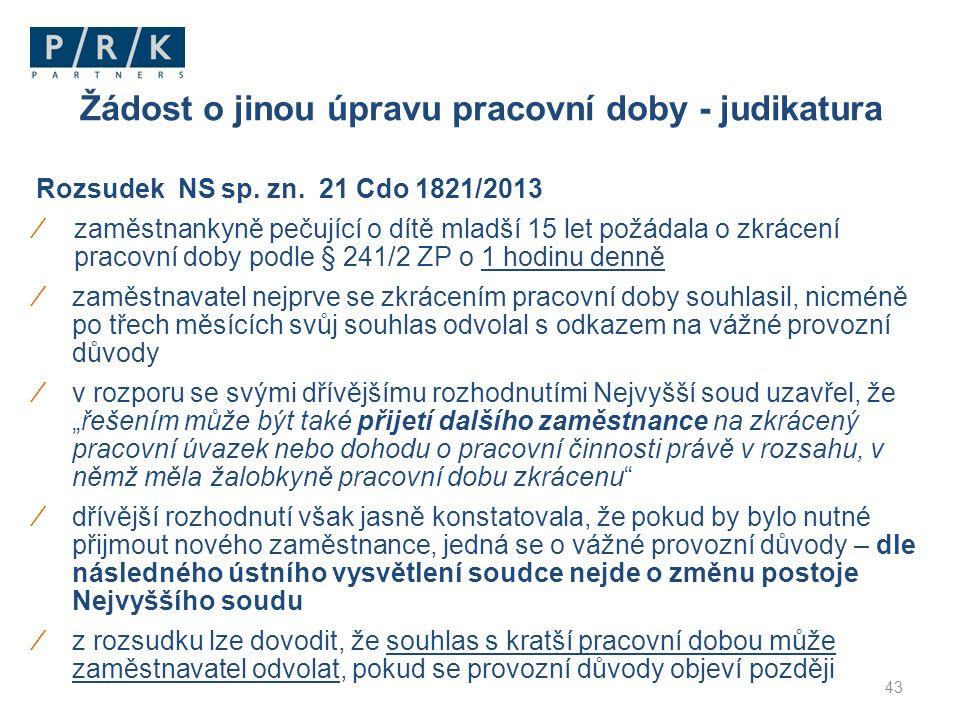Rozsudek NS sp. zn.
