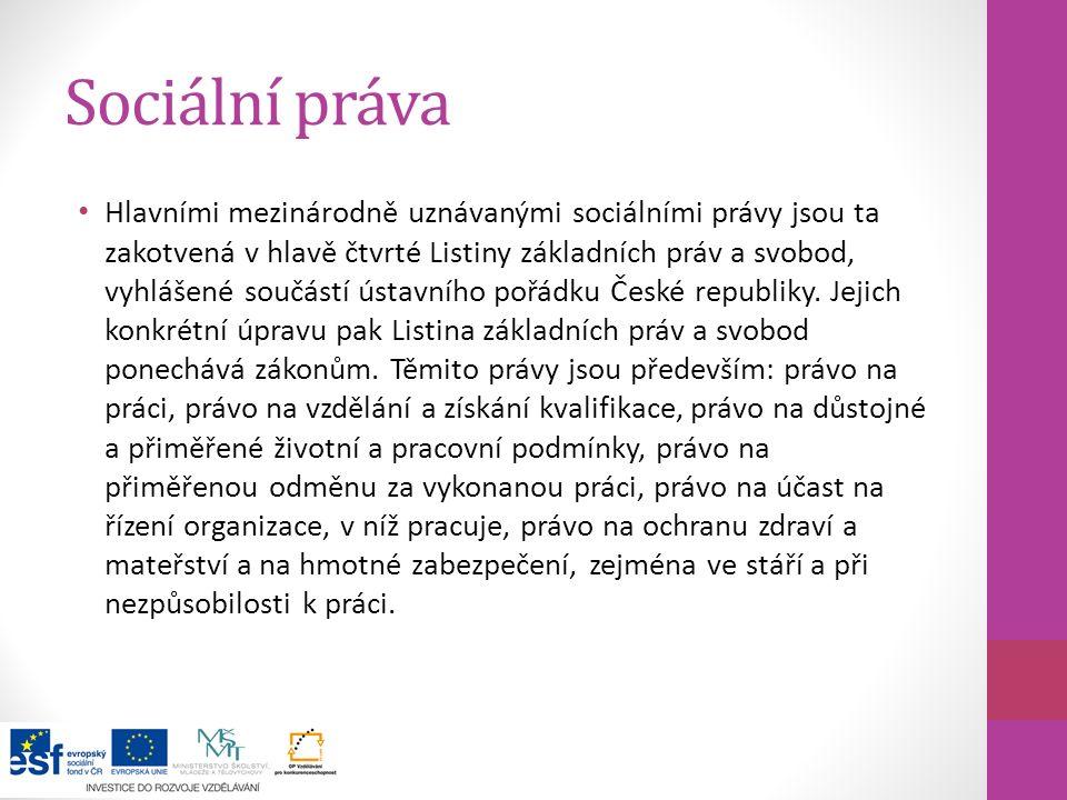 Systém SZ v ČR Systém sociálního pojištění Systém státní sociální podpory Systém sociální pomoci