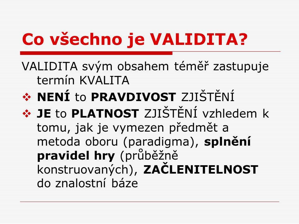 Posilování validity v kvalitativním výzkumu (b) 8.