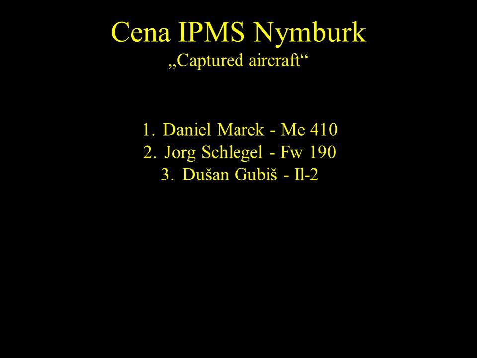 1.Daniel Marek - Me 410 2.Jorg Schlegel - Fw 190 3.Dušan Gubiš - Il-2