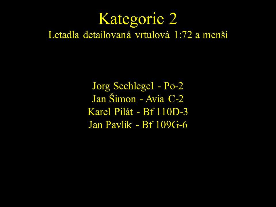 Jorg Sechlegel - Po-2 Jan Šimon - Avia C-2 Karel Pilát - Bf 110D-3 Jan Pavlík - Bf 109G-6
