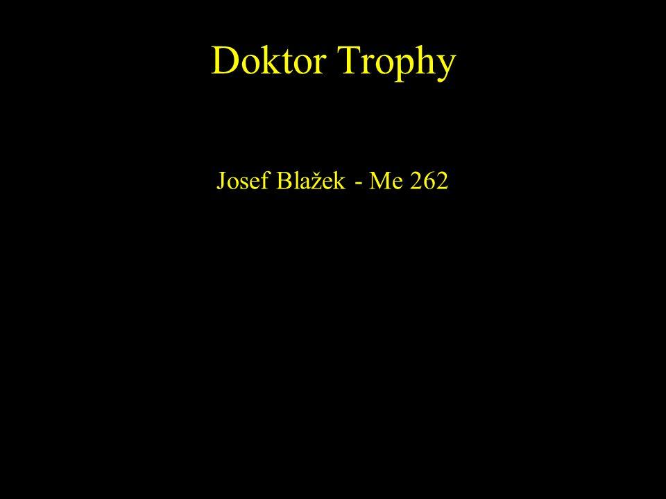 Doktor Trophy Josef Blažek - Me 262