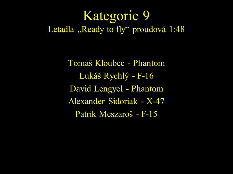 Tomáš Kloubec - Phantom Lukáš Rychlý - F-16 David Lengyel - Phantom Alexander Sidoriak - X-47 Patrik Meszaroš - F-15