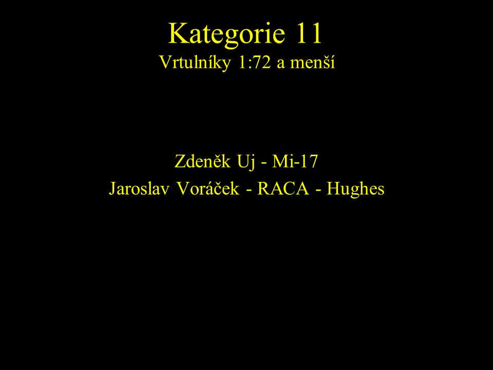 Zdeněk Uj - Mi-17 Jaroslav Voráček - RACA - Hughes