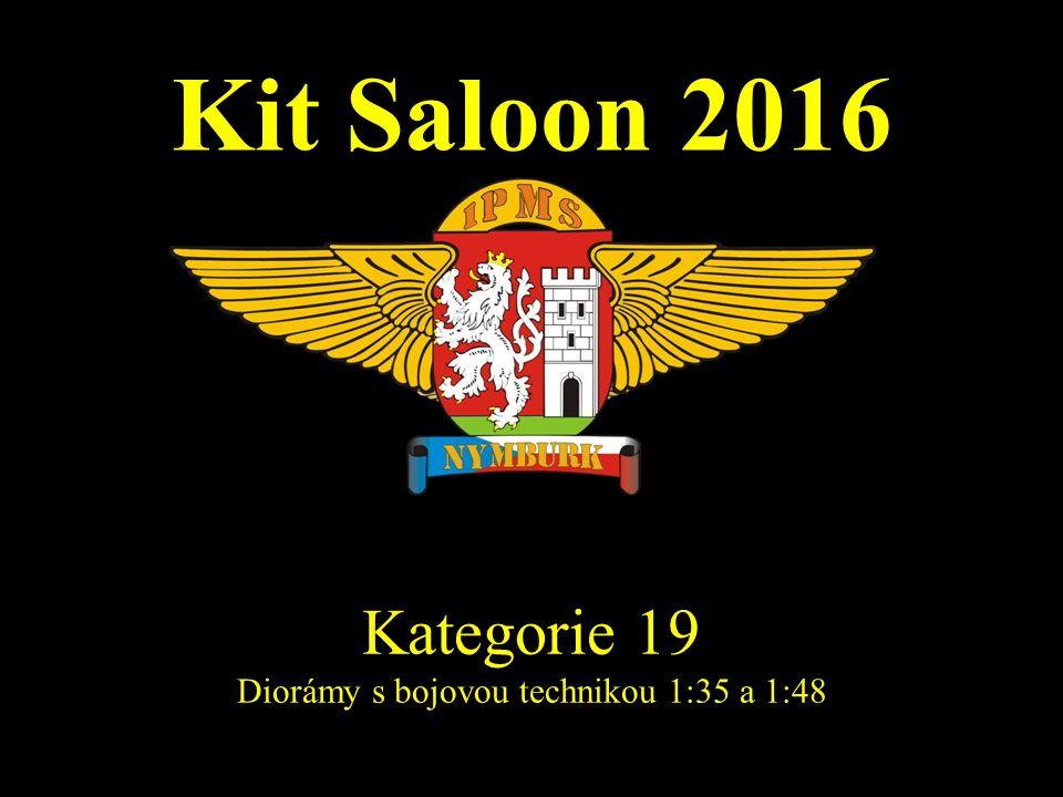 Kit Saloon 2016 Kategorie 19 Diorámy s bojovou technikou 1:35 a 1:48
