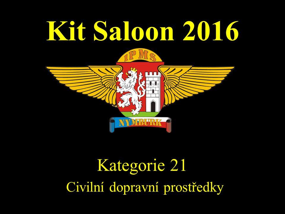 Kit Saloon 2016 Kategorie 21 Civilní dopravní prostředky