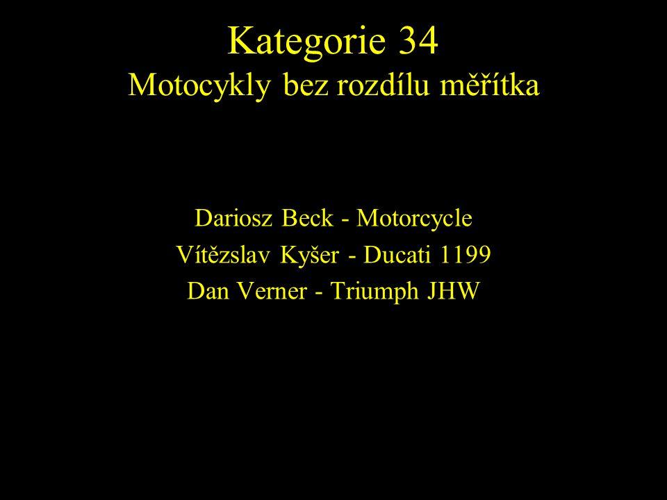Dariosz Beck - Motorcycle Vítězslav Kyšer - Ducati 1199 Dan Verner - Triumph JHW