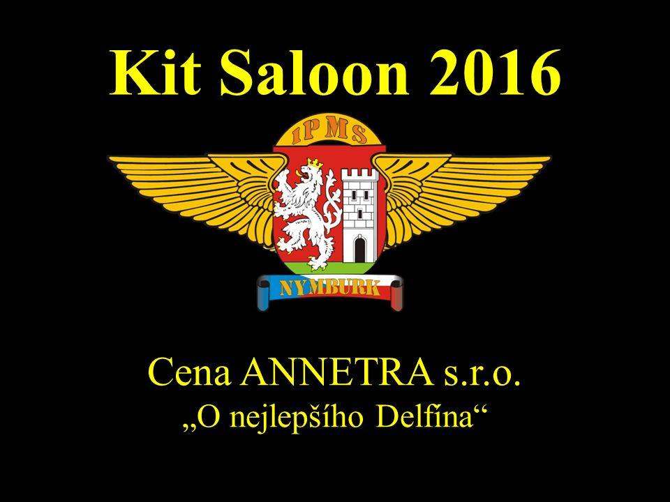 """Kit Saloon 2016 Cena ANNETRA s.r.o. """"O nejlepšího Delfína"""""""
