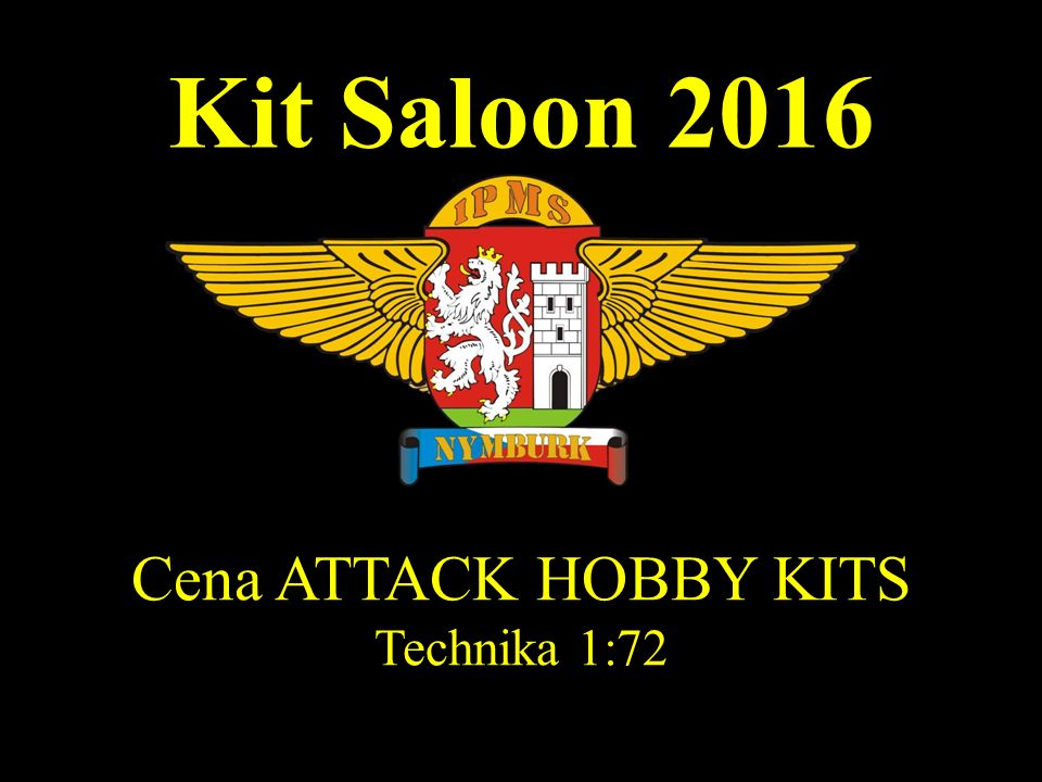 Kit Saloon 2016 Cena ATTACK HOBBY KITS Technika 1:72