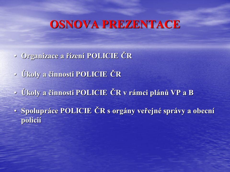 Vnitřní bezpečnost a veřejný pořádek Policie České republiky Okresní ředitelství RYCHNOV nad Kněžnou por.