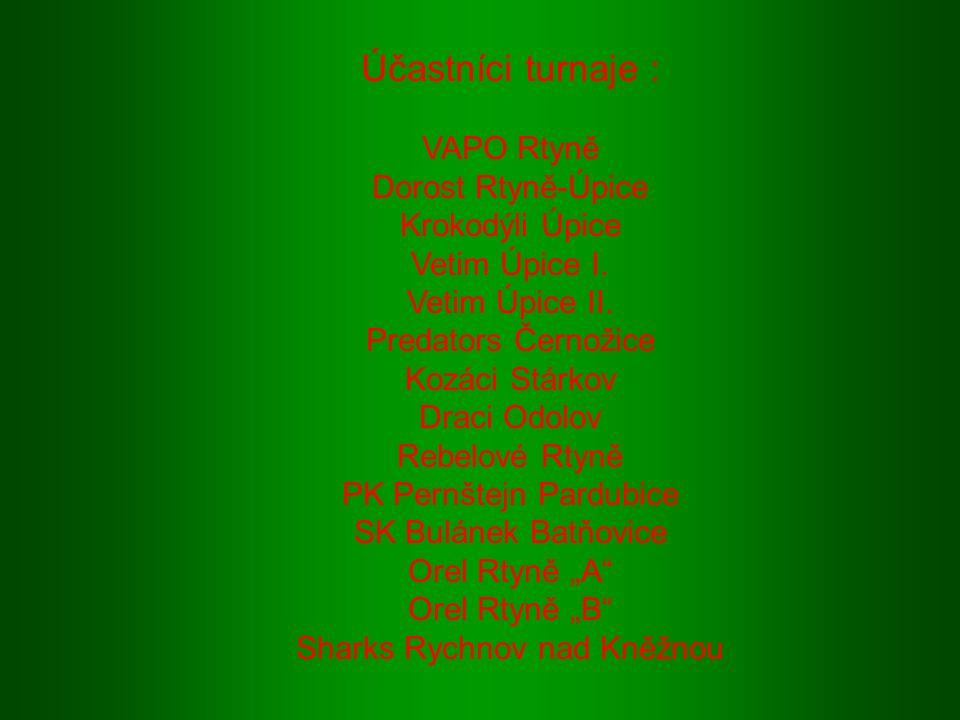 """RTYNĚ CUP 2008 16.ročník turnaje v malé kopané o putovní pohár, hraný pod heslem """"Sportem proti drogám"""