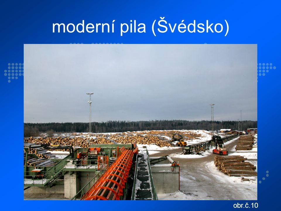 moderní pila (Švédsko) obr.č.10