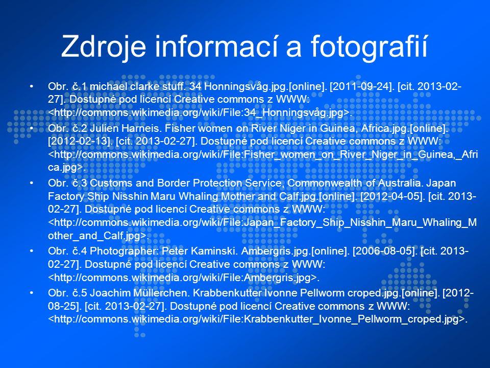 Zdroje informací a fotografií Obr. č.1 michael clarke stuff.