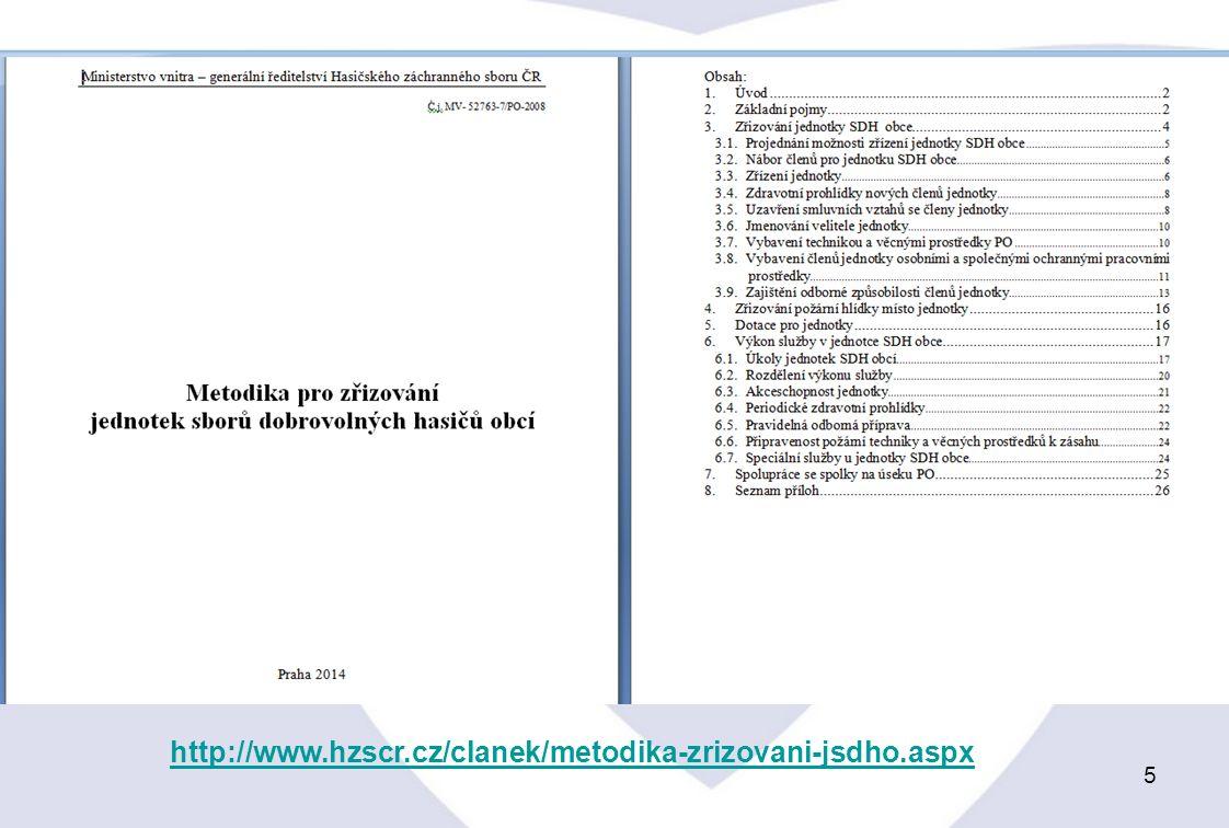 5 http://www.hzscr.cz/clanek/metodika-zrizovani-jsdho.aspx