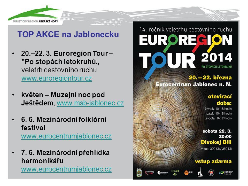 TOP AKCE na Jablonecku 20.–22. 3.