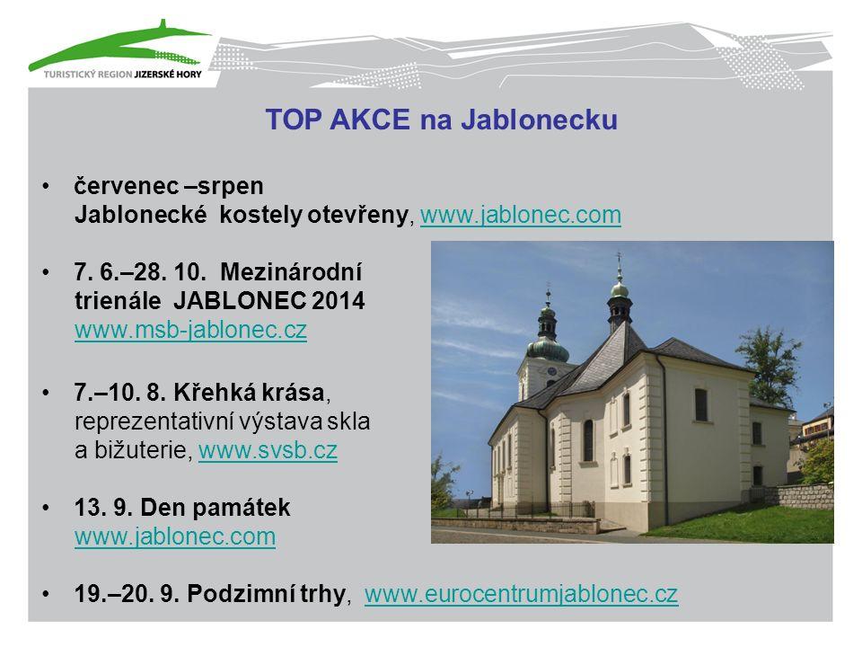 TOP AKCE na Jablonecku červenec –srpen Jablonecké kostely otevřeny, www.jablonec.comwww.jablonec.com 7.