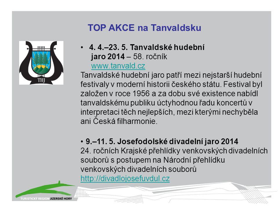 4. 4.–23. 5. Tanvaldské hudební jaro 2014 – 58.